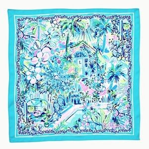NWT Lilly pulitzer Lilly's house scarf